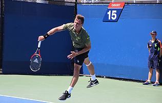 US Open: Fucsovics a f�t�bl�n nem nyert j�tszm�t