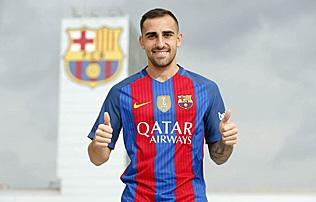 Barcelona: Paco Alcácer öt évre aláírt – hivatalos