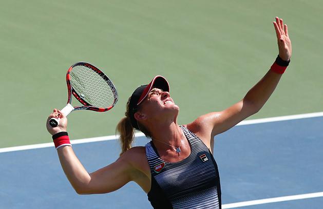 US Open: Babos a s�rb�l hozta vissza a m�rk�z�st