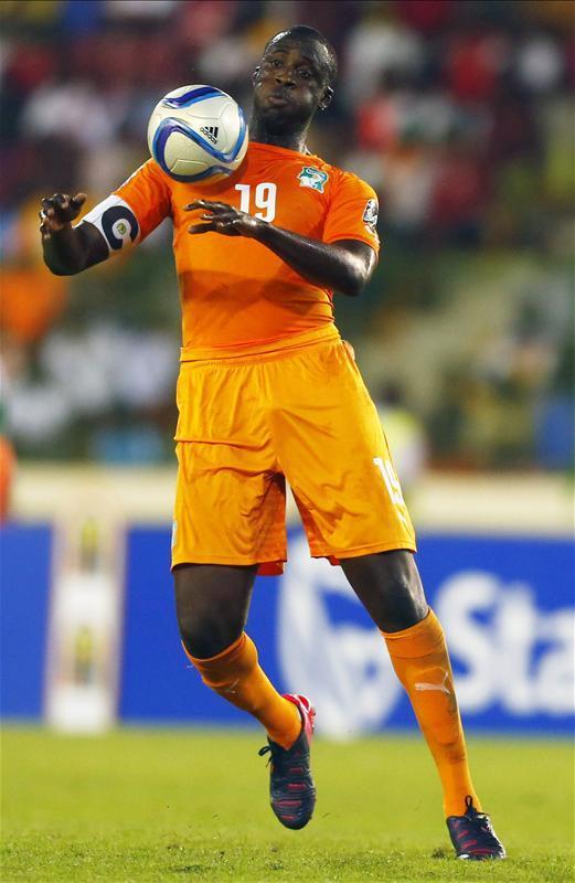 Yaya Touré nem szerepel többet címeres mezben (Fotó: Action Images)