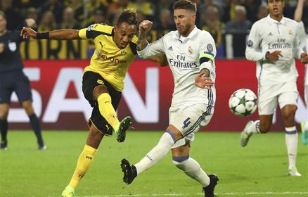 A Real hi�ba vezetett k�tszer is Dortmundban, m�gsem nyert