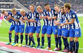 Bundesliga: D�rdai sz�rnyal� Herth�ja az otthon botl� Bayern nyom�ban