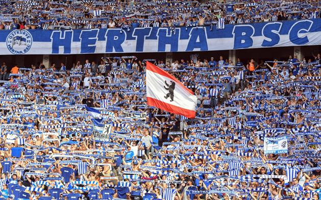 Remekül szerepel a Hertha és a Köln is, rengeteg nézőt várnak a meglepetéscsapatok csatájára (Fotó: AFP)