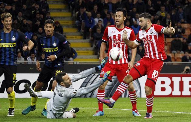 Az Inter megharcolt az első Európa-liga-győzelméért (Fotó: Reuters)
