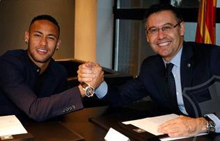 Barcelona: Neymar hosszabbított, de ennyiért bárki viheti – hivatalos
