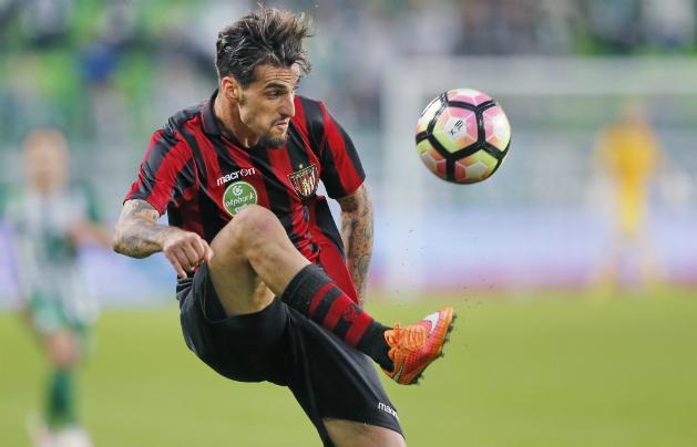 Davide Lanzafame nem zárja ki, hogy visszatér Olaszországba (Fotó: Szabó Miklós)