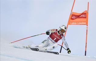 Alpesi sí: fantasztikus Miklós Edit, 3. lett Lake Louise-ban!