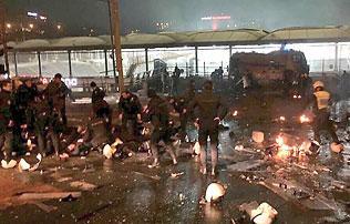 Törökország: pokolgép robbant a Besiktas stadionjánál