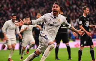 La Liga: őrült meccs – Ramos ráadásban szerzett gólja döntött
