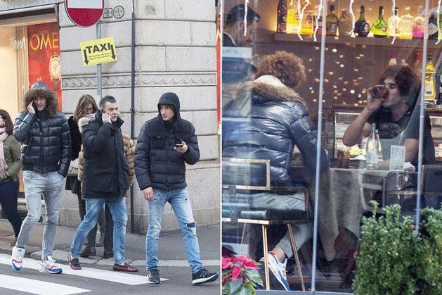 Fellaini hamarosan a Milan játékos lehet (Fotó: Mirror)