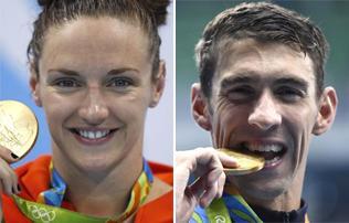Úszás: Hosszú Katinkát lenyűgöző nézni – Michael Phelps