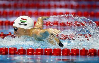 Hosszú Katinka a rövid pályás úszó-vb-k női csúcstartója lett