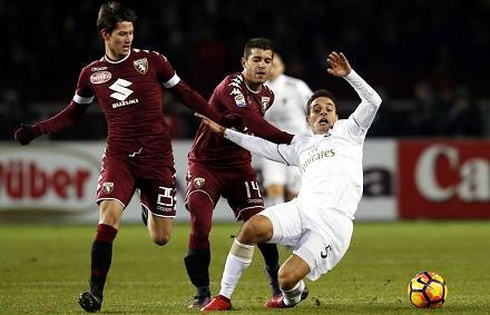 Serie A: 0–2-ről mentett pontot a Milan Torinóban