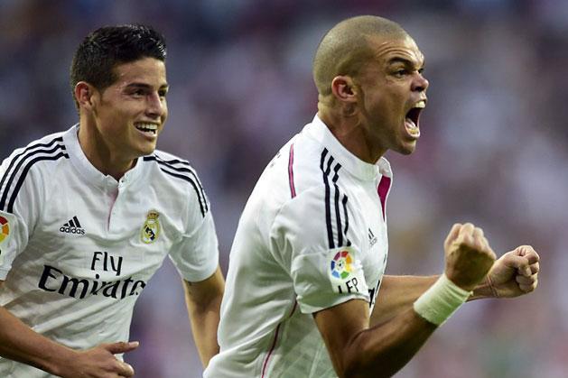 James Rodríguez és Pepe is a kínai klubok célkeresztjében szerepel (Fotók: AFP)