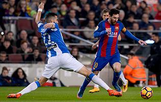 La Liga: hiába küzdött a Leganés, Messi a végén döntött