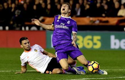 A Valencia meglepte a listavezető Real Madridot (Fotó: AFP)