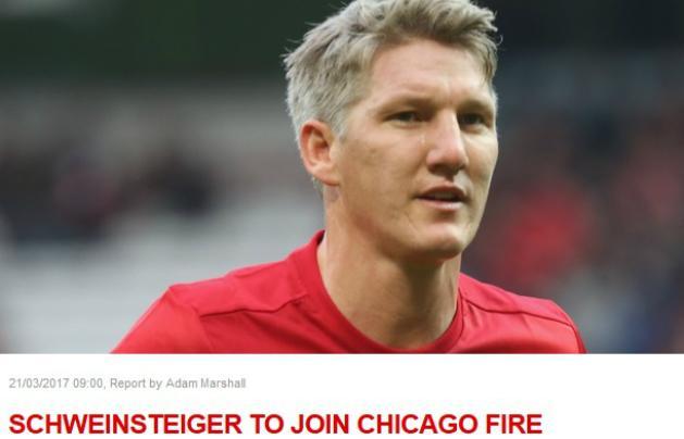 A Manchester United megerősítette, Bastian Schweinsteiger a Chicagóhoz szerződik (Fotó: manutd.com)