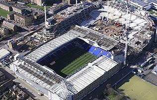 PL: fantasztikus légi felvételek a Spurs épülő stadionjáról – képek