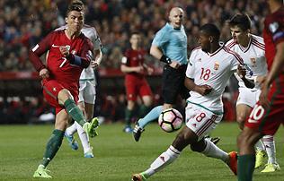 A portugálok megint hármat lőttek, de a válogatottunk nem volt lyoni formában