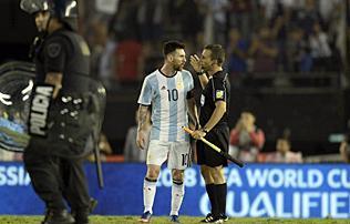 Vb 2018: Messi négymeccses eltiltást kaphat – sajtóhír