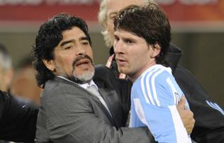 Argentína: botrány a válogatottnál, Maradona így szúrta hátba Messit?