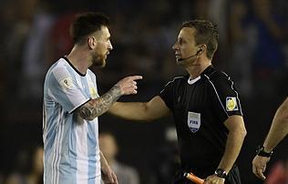 Vb 2018: Nem akartam megsérteni az asszisztenst – Messi