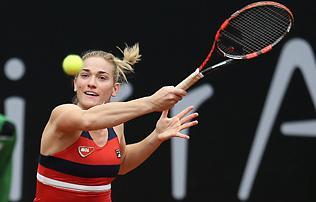 Tenisz: Babos csak öt játékot engedett ellenfelének