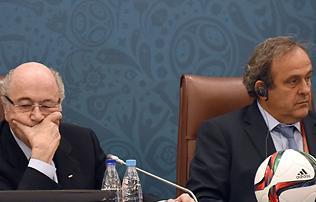 Platini: Blatter a legönzőbb személy, akivel valaha találkoztam
