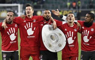 Bundesliga: sorozatban ötödször bajnok a Bayern!