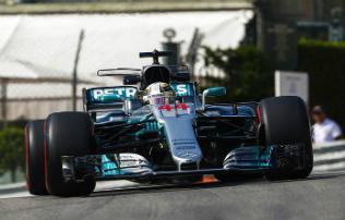 Hamilton és Vettel az első monacói edzés első két helyén