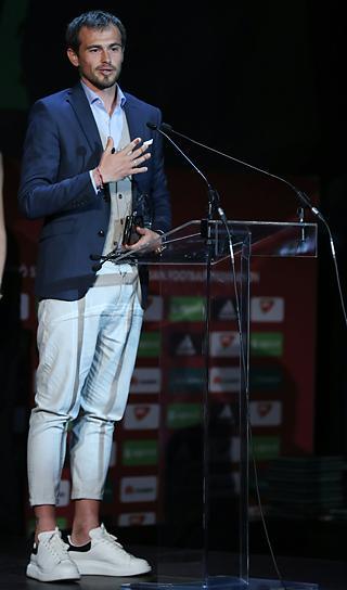Danko Lazovicsot választották a férfi NB I legjobb játékosának (Fotó: Veres Viktor)