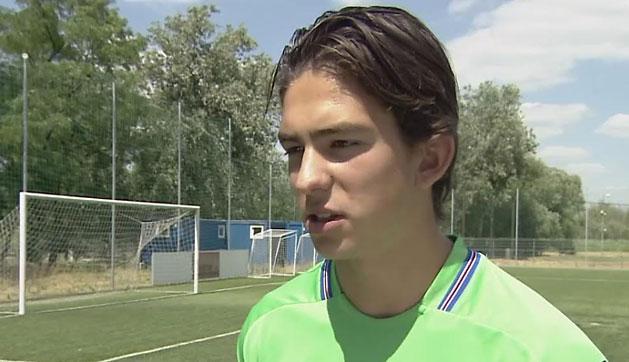 Hutvágner Gergely úgy érzi, sokat fejlődött a Sampdoriánál (Fotó: http://www.digisport.hu)