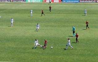 Felkészülés: a Balmaz 2–0-ra is vezetett a Honvéd ellen