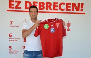 DVSC: Tisza Tibor egy év után visszatért a csapathoz