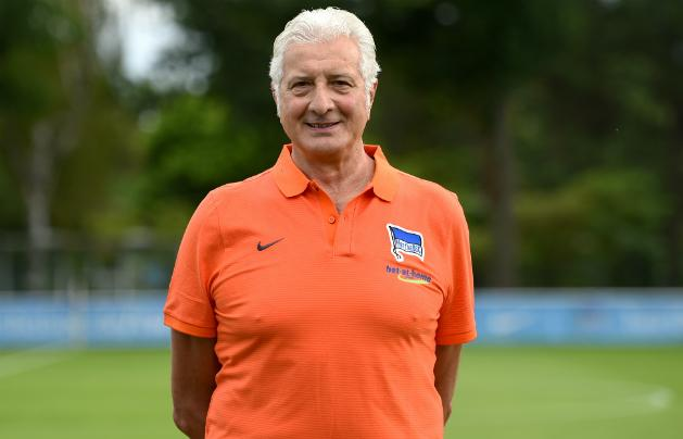 Nello Di Martino, a Hertha új kapusa (Fotó: AFP)
