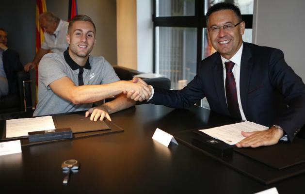 Gerard Deulofeu visszatért a Barcelonához (Fotó: fcbarcelona.es)