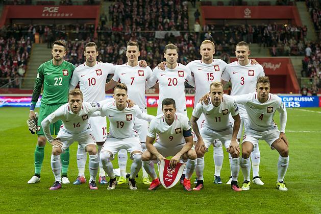 Csak négy jobb válogatott van a lengyelnél – a FIFA-világranglista szerint (Fotó: AFP)