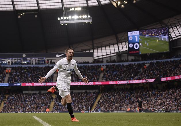 Gylfi Sigurdsson lehet az Everton rekordigazolása (Fotó: AFP)