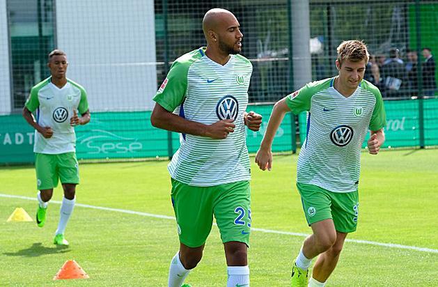 John Anthony Brooks ezentúl a Hertha meze helyett a Wolfsburgét viseli (Fotó: AFP)