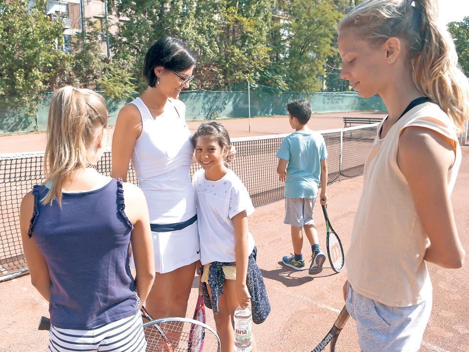 egyetlen tenisz vakáció