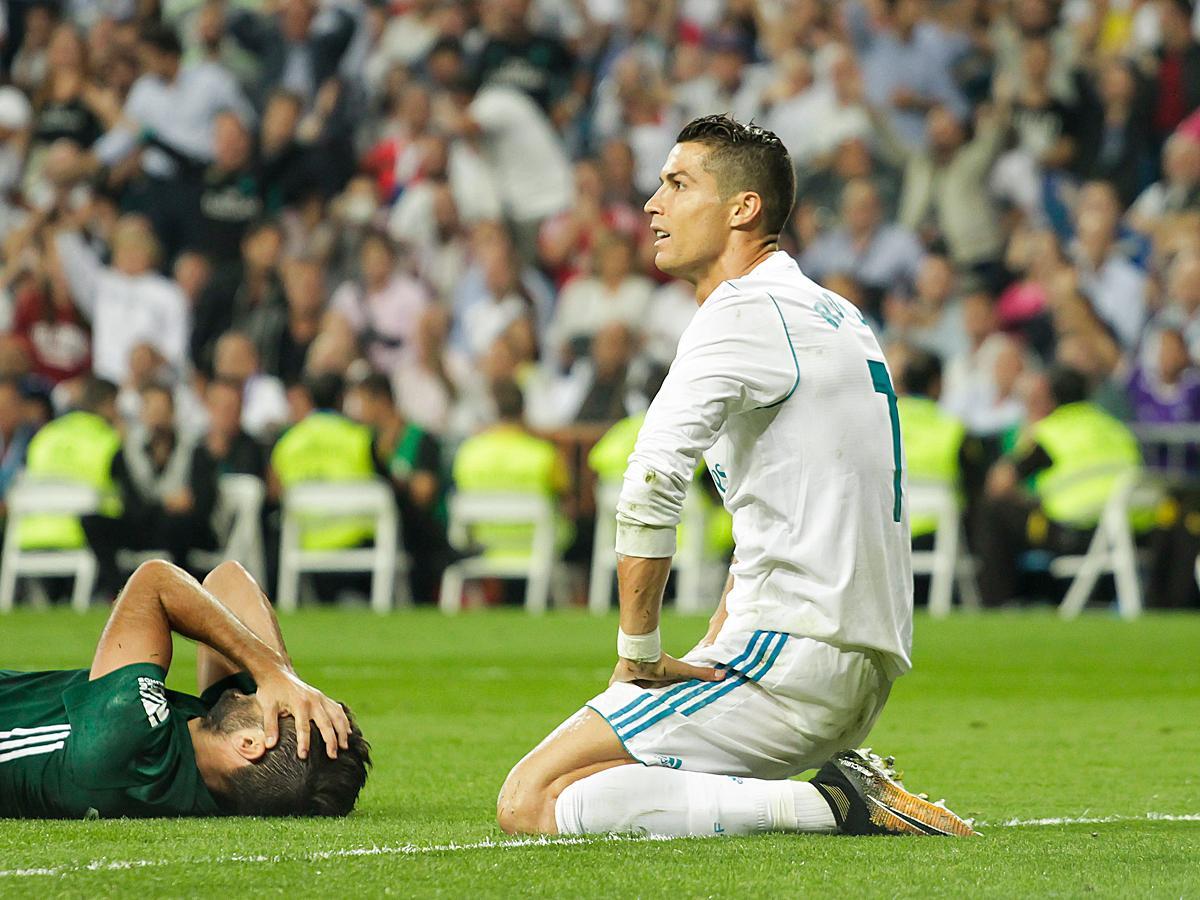 A Real Madrid beragadt a spanyol bajnokság rajtjánál – Dortmundban sem lesz könnyű Cristiano Ronaldóéknak (Fotó: AFP)