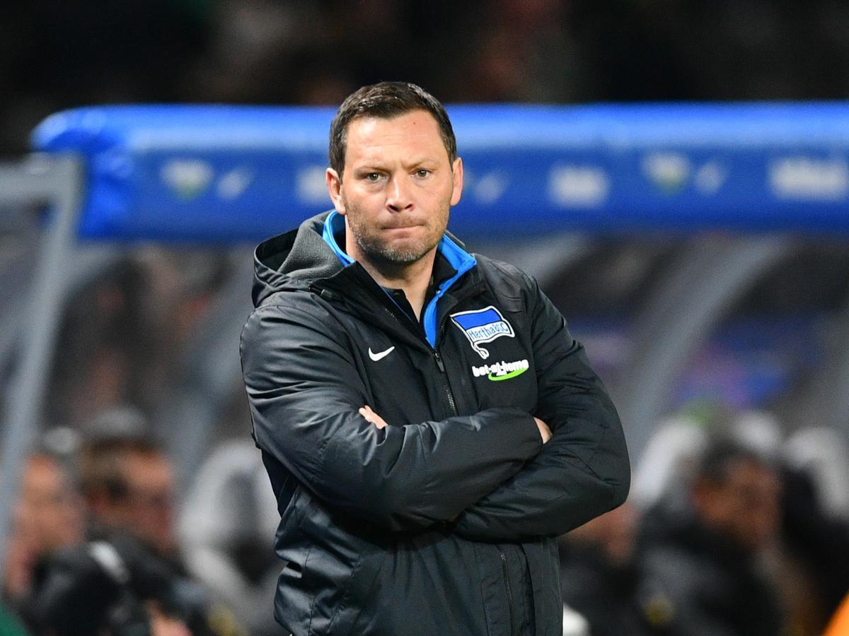 Dárdai Pál okkal nem boldog, nincs jó formában a Hertha (Fotó: AFP)