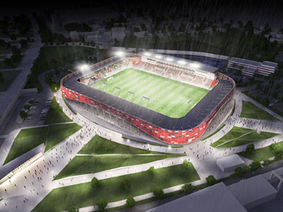 Honvéd  2018 őszén kezdődhet az új stadion építése - NSO 5516ffbd8e