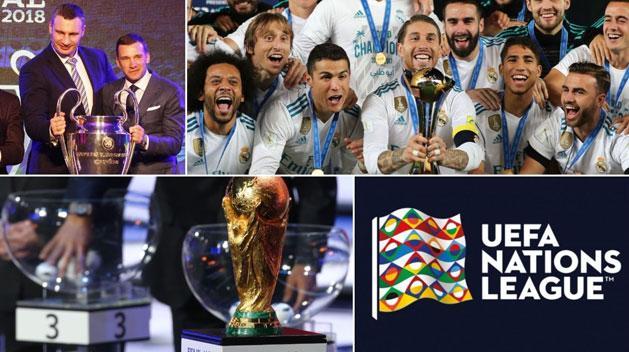 BL, klub-vb, világbajnokság, Nemzetek Ligája – ízelítő az idei futballprogramból (Fotók: AFP)