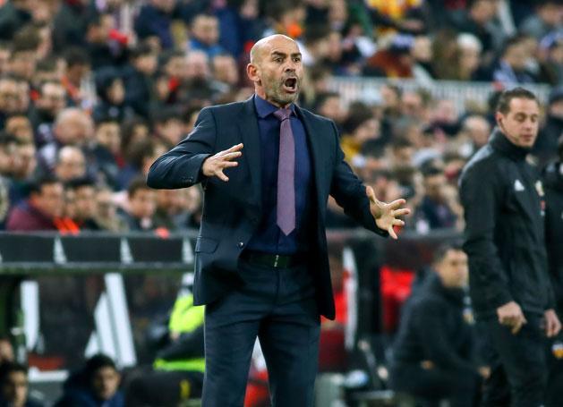 Paco Jémez megszerezte első pontjait a Las Palmas trénereként (Fotó: AFP)