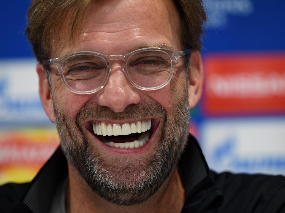 Jürgen Kloppnak most is volt oka a derűre – bármennyire is fájlalja az utolsó perceket (Fotó: AFP)