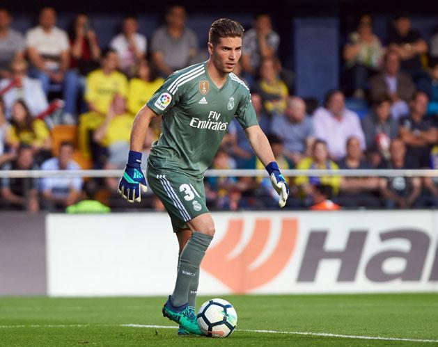 Luca Zidane bemutatkozott a Real Madrid felnőttcsapatában