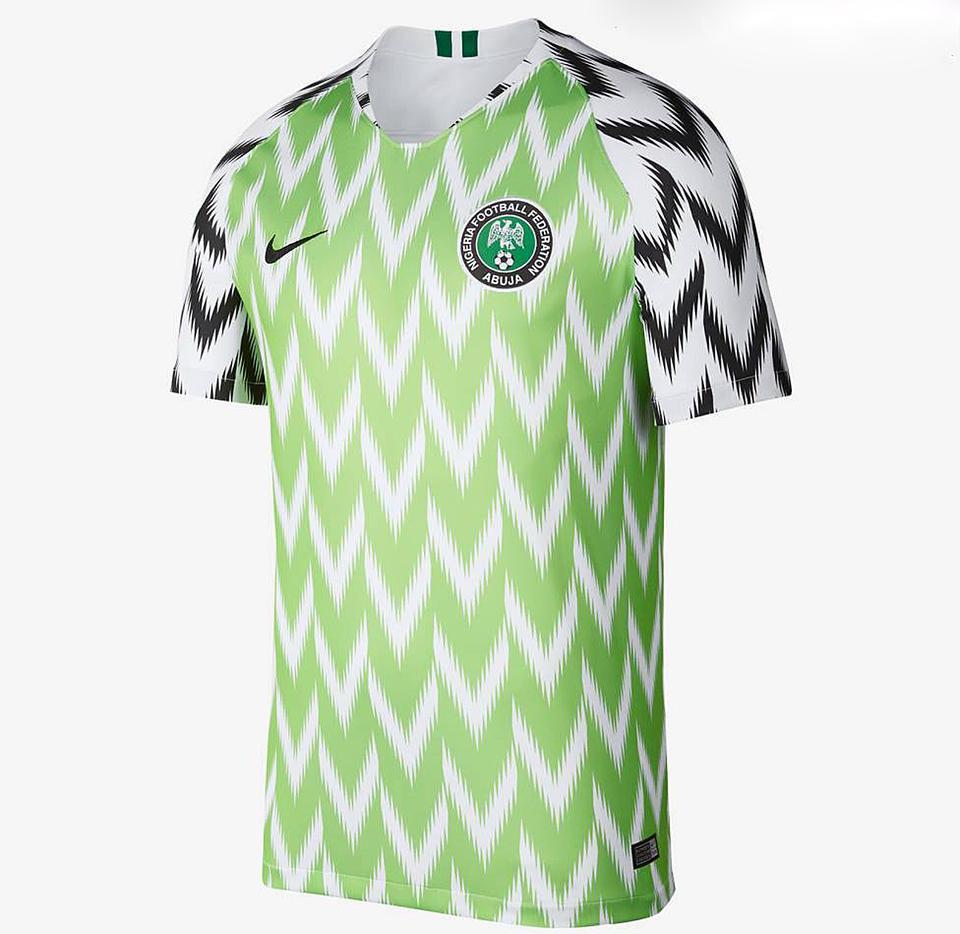 A Nike nagyon eltalálta a nigériai válogatott mezét 6717396629