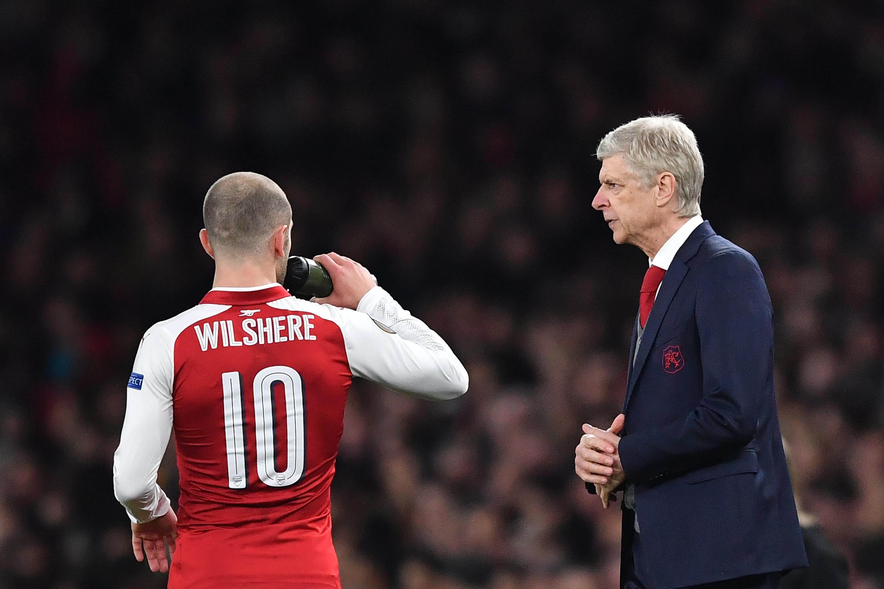 Wenger bízik Wilshere maradásában (Fotó: AFP)