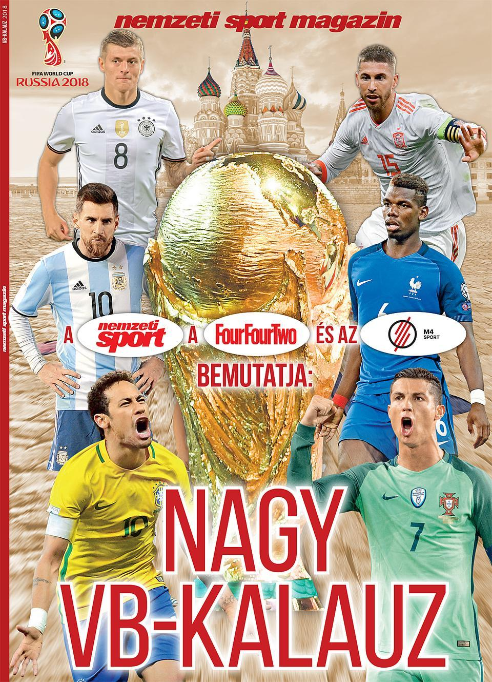 A labdarúgó-világbajnokság előtt és alatt kihagyhatatlan a Nemzeti Sport 31b9bac832